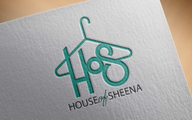 House of Sheena Logo Design by Mance Multimedia