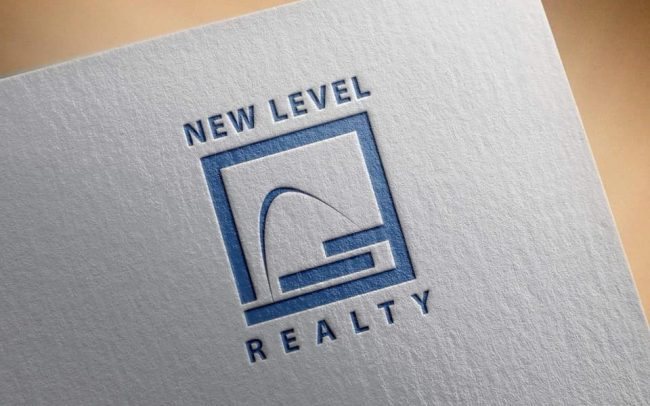New Level Realty Logo Designed by Mance Multimedia