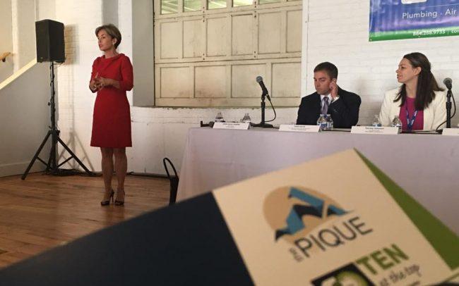 The Pique Event Logo