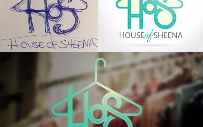 House of Sheena Logo Design by Mance Multimedia